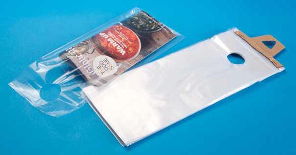 Door Hanger Bag Clear 6x12 3 5 Quot Lip 1 5 Mil Ld 1000 Cs