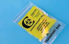 9x12 Chemotherapy Drug Transport Bags