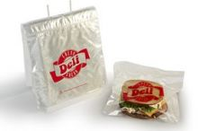 10x8.5 Saddle Pack Deli Bags, Flip Top