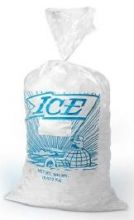 "12x21 Ice Bags with 4"" twist ties"