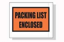 4.5x5.5 Packing List Envelopes