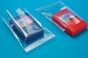 Tamper Proof Clear Poly Bag Zip Top Reclosable, Bottom-Loading