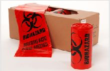 1.3 MIL Biohazard Bags (40x46) | Infectious Waste Bags